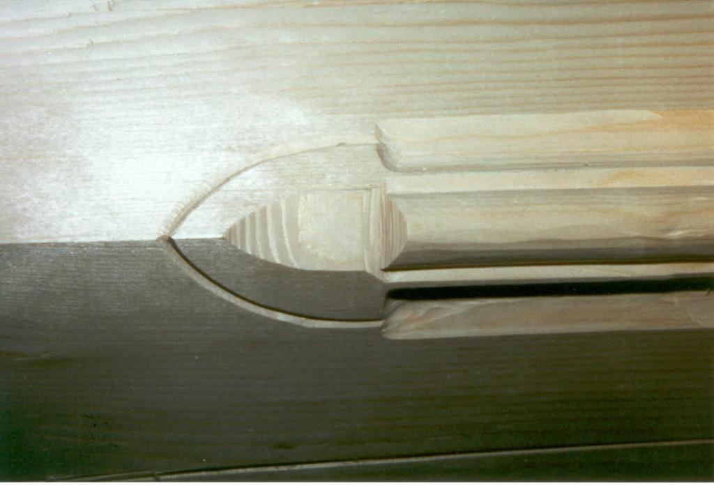 Detail Auslauf